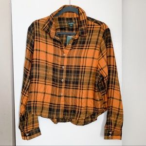 🍂 New! Wild Fable Flannel Button Down Top